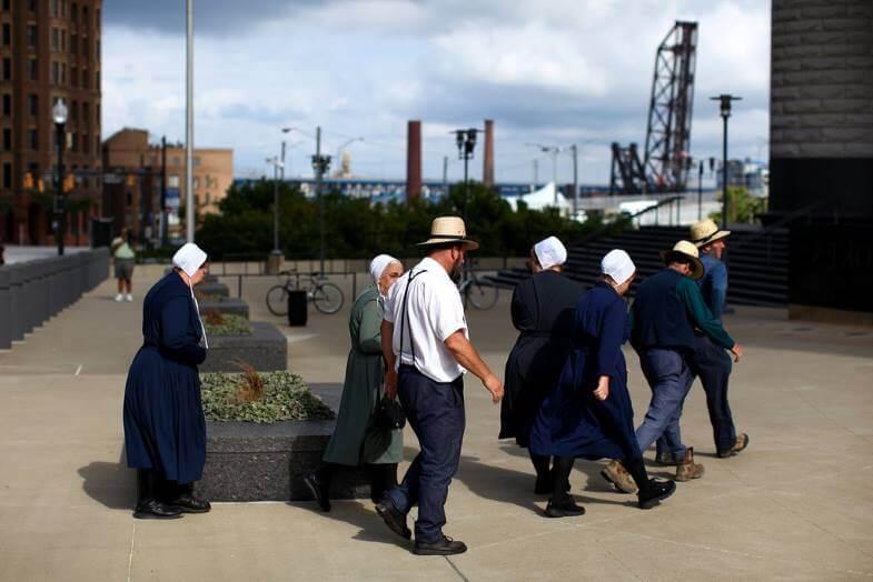 амиши прячутся от камер