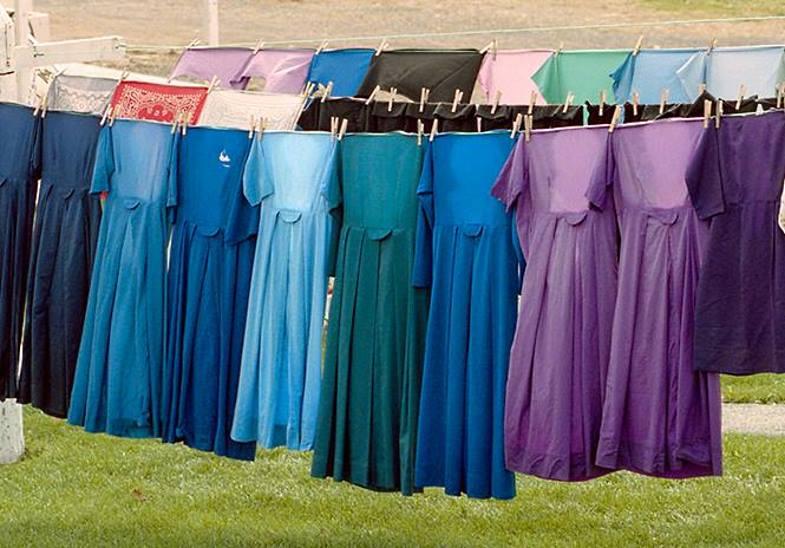 фасон платьев амишей