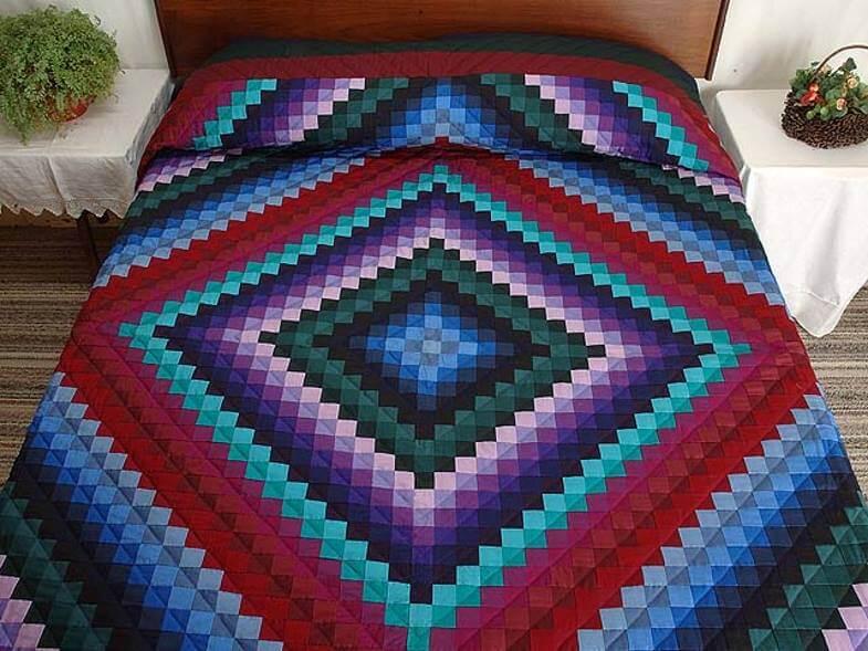 амишское одеяло свет и тени