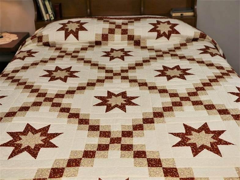 звезды на одеяле амишей