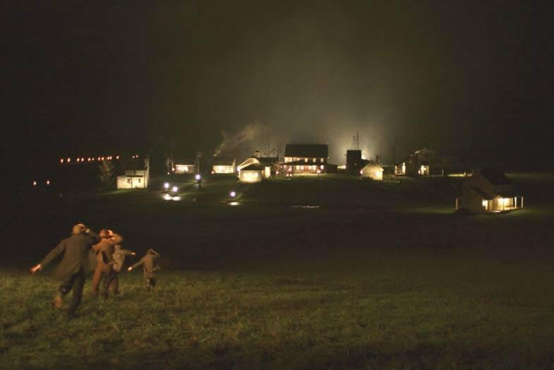 пожар в деревне амиш