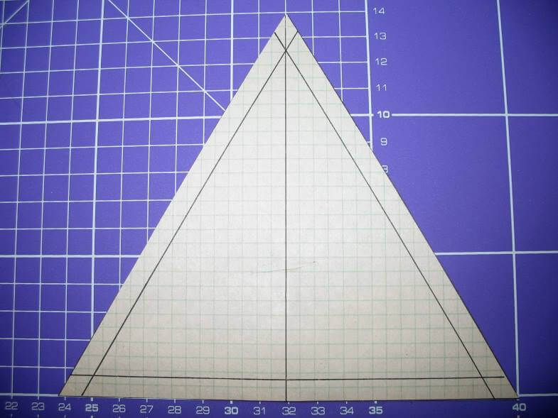 шаблон треугольника