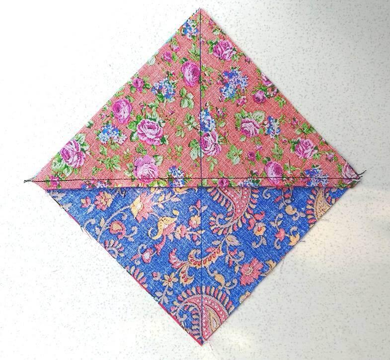 снова рисуем диагональ