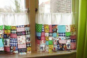 шторы лоскутные без подкладки