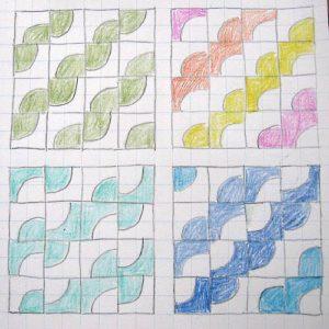 """схемы с блоком """"Четверть круга""""1"""