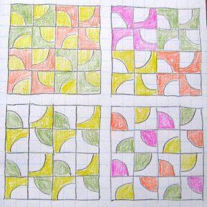 """схемы с блоком """"Четверть круга""""2"""