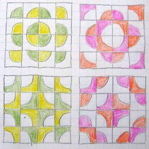 """схемы блока """"Четверть круга""""3"""