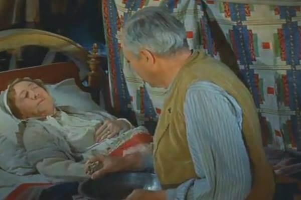 американские пионеры, быт, кадр из фильма